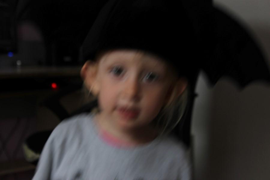 Fotovorlage eines Kindes