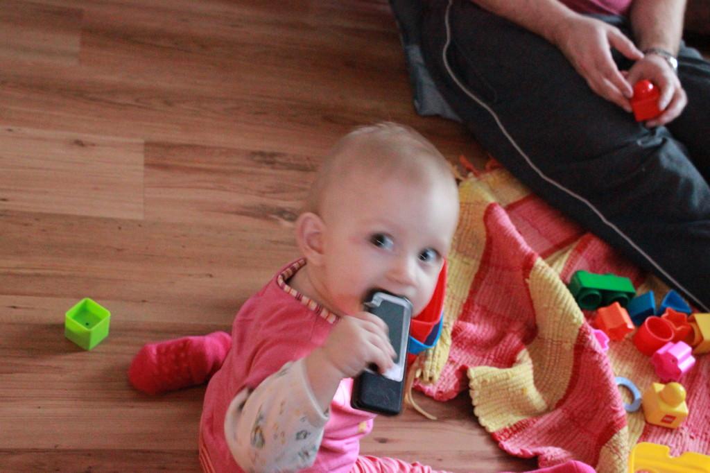 Fotovorlage eines Kleinkindes