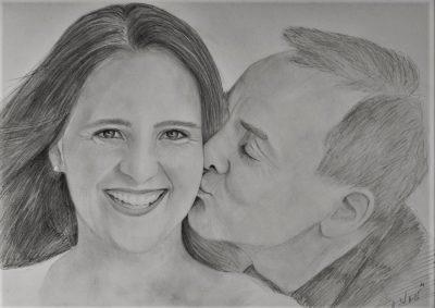 Portrait zeichnen lassen